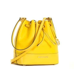 Bolsa bucket Cary Michael Kors - Yellow