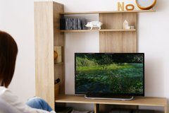 Modular Rack Tv Lcd - Centro De Entretenimiento - Rack Tv - Green Muebles