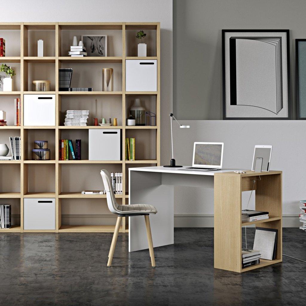 escritorio moderno estanteria en internet