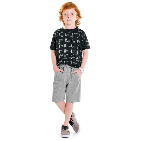 Conjunto Infantil Masculino Play Fakini Playground