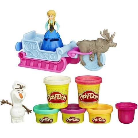 Massinhas Play-Doh Frozen Hasbro