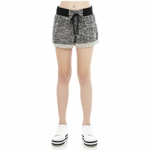 Short Infanto Juvenil Preto/Off Rovitex Kids