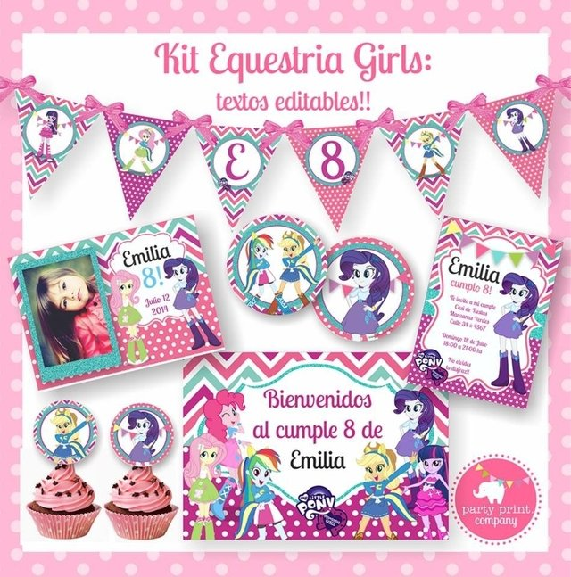 KIT EQUESTRIA GIRLS