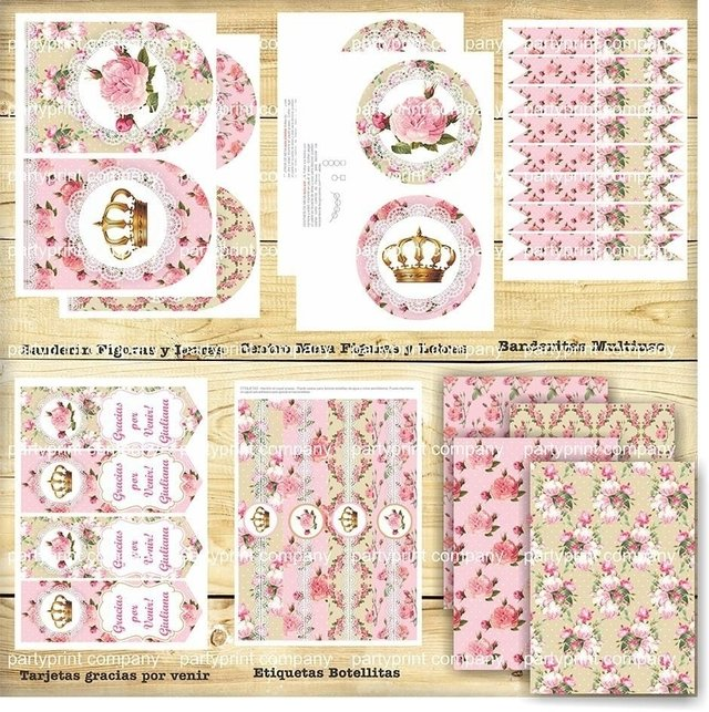 KIT CORONITA SHABBY CHIC en internet