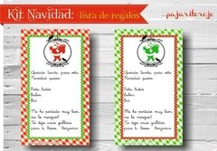 KIT NAVIDAD VERDE Y ROJO - Pajaritorojo Happy Party