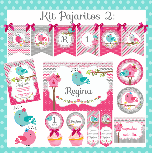 KIT PAJARITOS 2