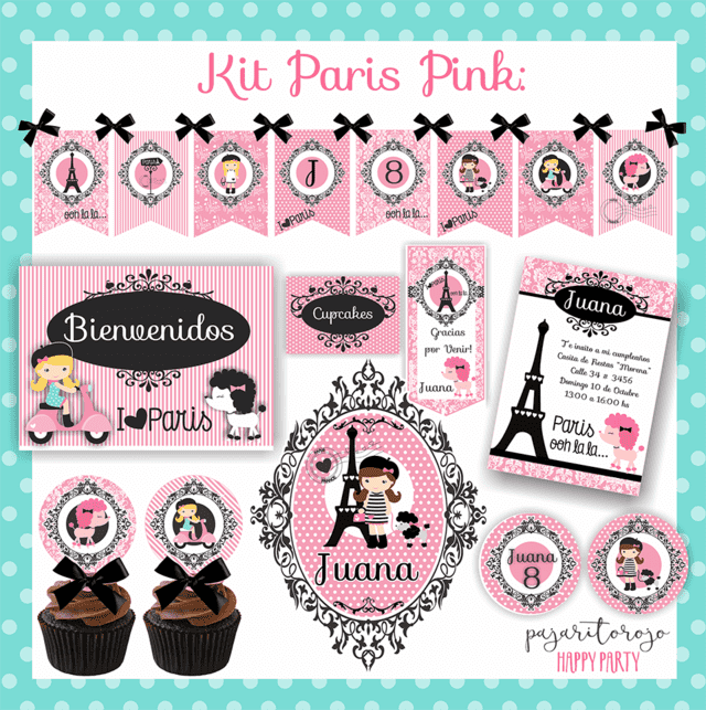 KIT PARIS PINK