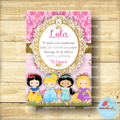 KIT PRINCESAS DISNEY - comprar online
