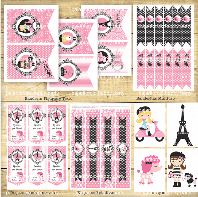 KIT PARIS PINK en internet