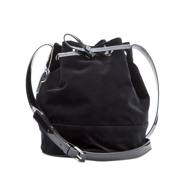BUCKET BAG FIFI VELVET