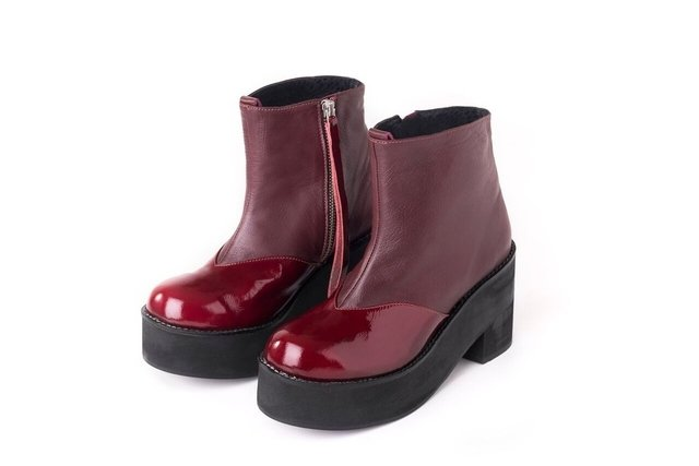 West Boot Bordo - comprar online