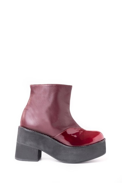 West Boot Bordo
