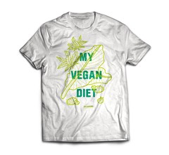 T SHIRT VEGAN DIET
