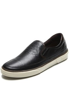 Slip on Preto/Tabaco Democrata