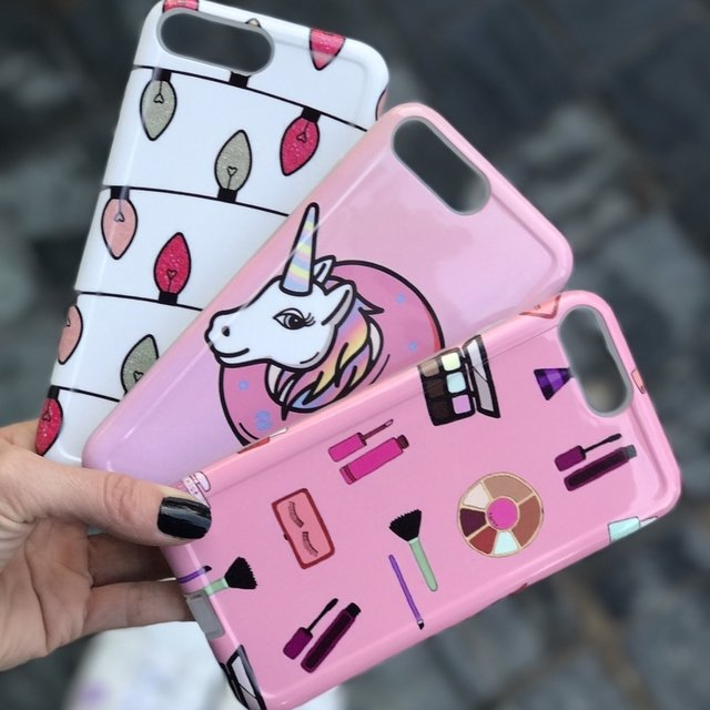 Fundas lights - Makeup - Unicornio