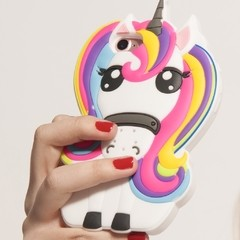 Funda de silicona Little Unicorn en internet