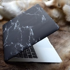 Funda para Macbook Marmol Negra