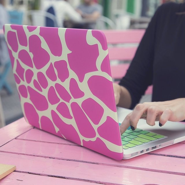Funda MacBook Zebra