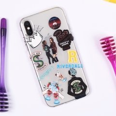 Funda TPU  Riverdale Stickers by Netflix - comprar online