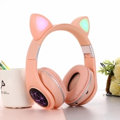 Auriculares Headphone CATTY con LUZ LED