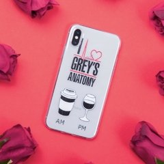 Funda TPU  Greys Anatomy AMPM by Netflix