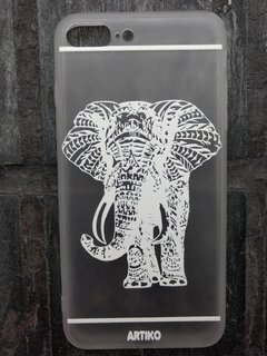 Funda India Elephant Blanco - comprar online