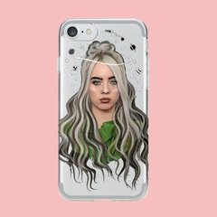 Funda TPU Billie Eilish Face