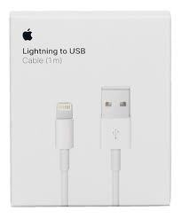 Cable Original iPhone - lightning to USB (1m) - comprar online