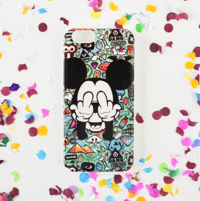 Funda rigida Mickey F*ck You