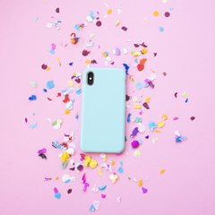 Imagen de Funda Silicona Leather Mint Blue