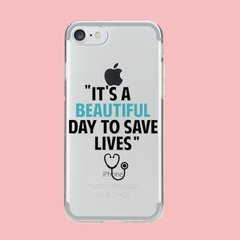 Funda TPU  Greys Anatomy Its a beautiful Day by Netflix - comprar online