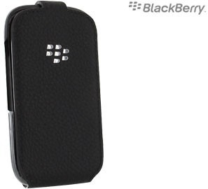 Flip Cover Shell Original Blackberry 9320 Negro