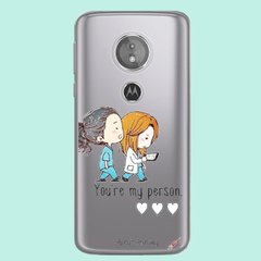 Imagen de Funda TPU Greys my person by Netflix