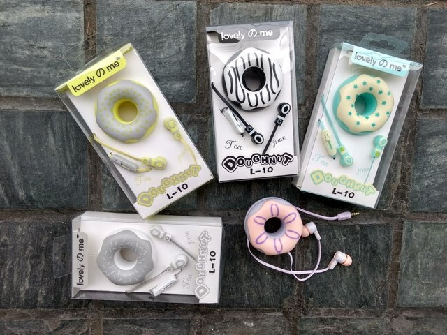 Auriculares Donuts