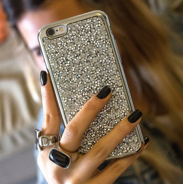 Funda TPU Chrome Glitter