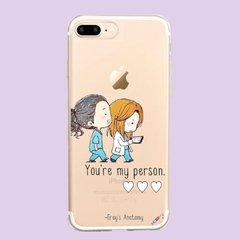 Funda TPU Greys my person by Netflix - Artiko