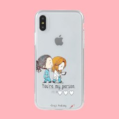 Funda TPU Greys my person by Netflix - tienda online