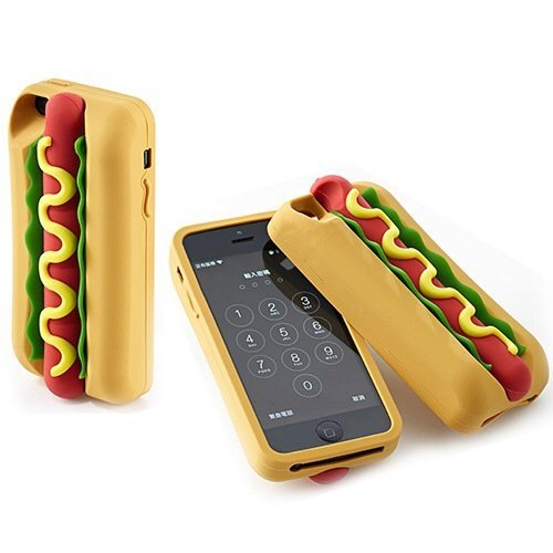 Funda de silicona Hot dog  - Incluye una de regalo - comprar online