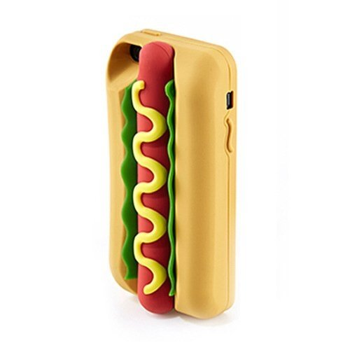 Funda de silicona Hot dog  - Incluye una de regalo