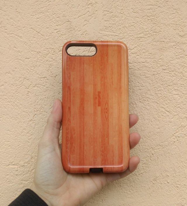 Funda Rigida Wood Style one
