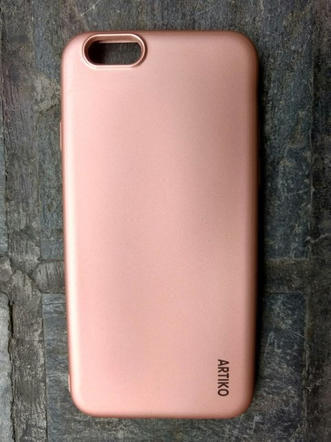 Funda TPU Soft Rose Gold