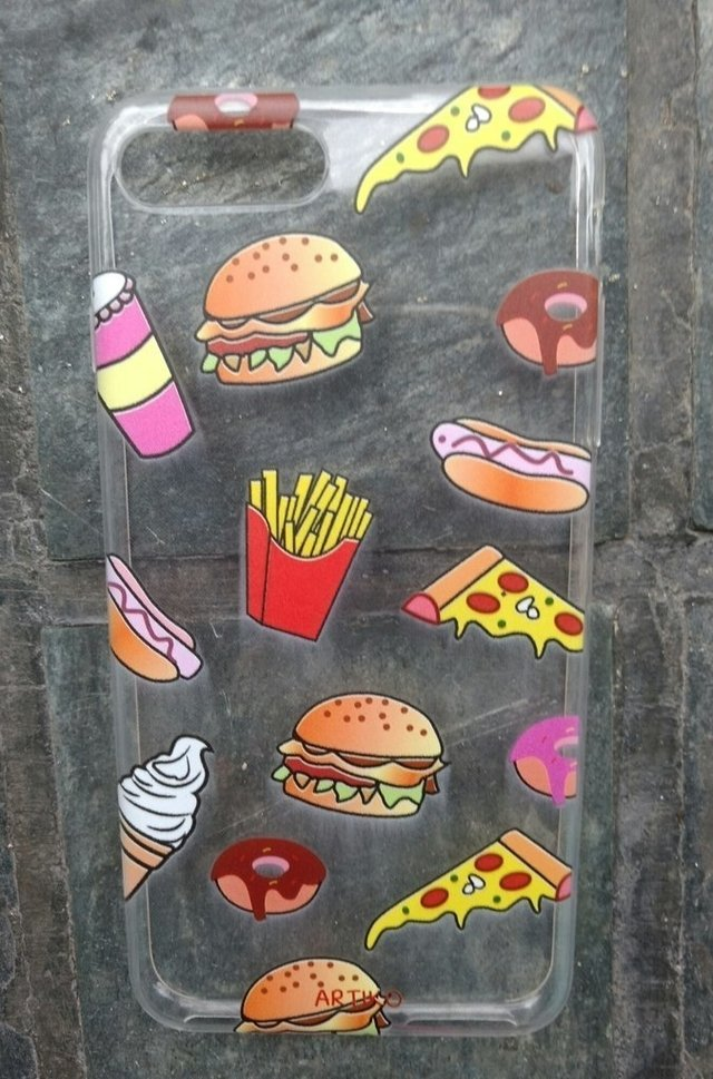 Funda Tpu Raining Food en internet