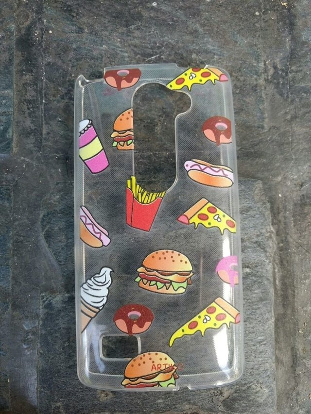 Funda Tpu Raining Food