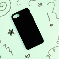 Funda Silicona Leather Case Negro