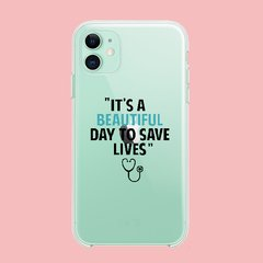 Funda TPU  Greys Anatomy Its a beautiful Day by Netflix