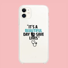 Funda TPU  Greys Anatomy Its a beautiful Day by Netflix - tienda online