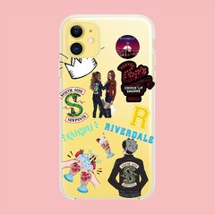 Funda TPU  Riverdale Stickers by Netflix