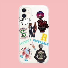 Funda TPU  Riverdale Stickers by Netflix - tienda online