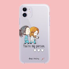 Funda TPU Greys my person by Netflix