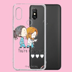Funda TPU Greys my person by Netflix en internet